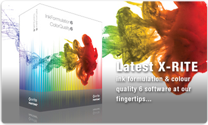 X-Rite ink formulation software